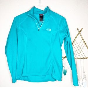 The North Face | Teal Fleece Pullover
